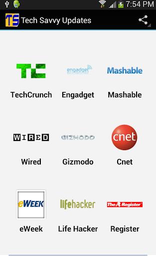 Tech savvy news