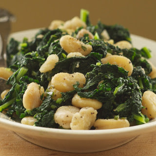 Lacinato Kale and Fava Beans.