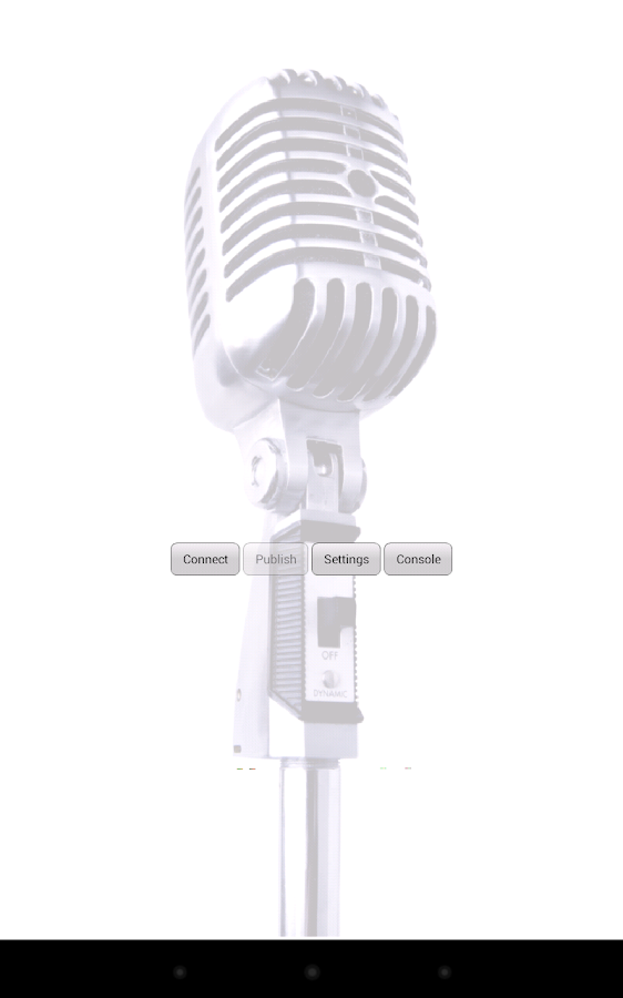Audio Broadcaster- screenshot