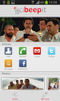 Screenshot of QR Code Reader - goBeepit
