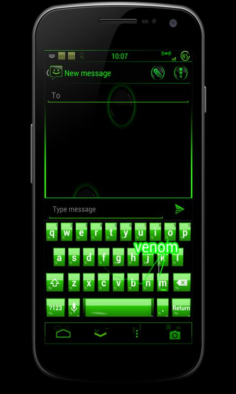 CM10 JB Theme: VENOM FREE - screenshot