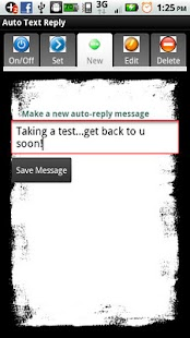 Auto Text Reply - screenshot thumbnail