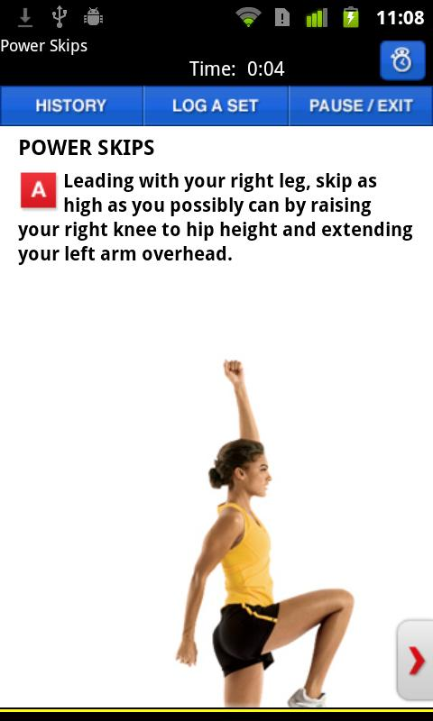 Women's Health Workouts - screenshot