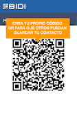 Screenshot of BIDI: lector QR y de barras