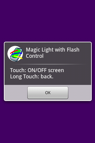 Magic Light with Flash Control- screenshot