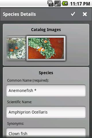 Fishes - screenshot