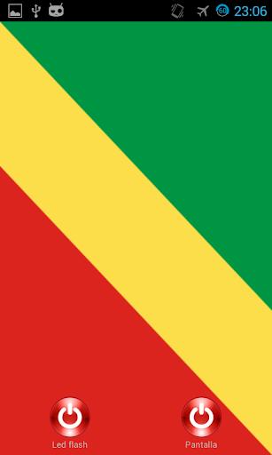 Lantern flash screen Congo