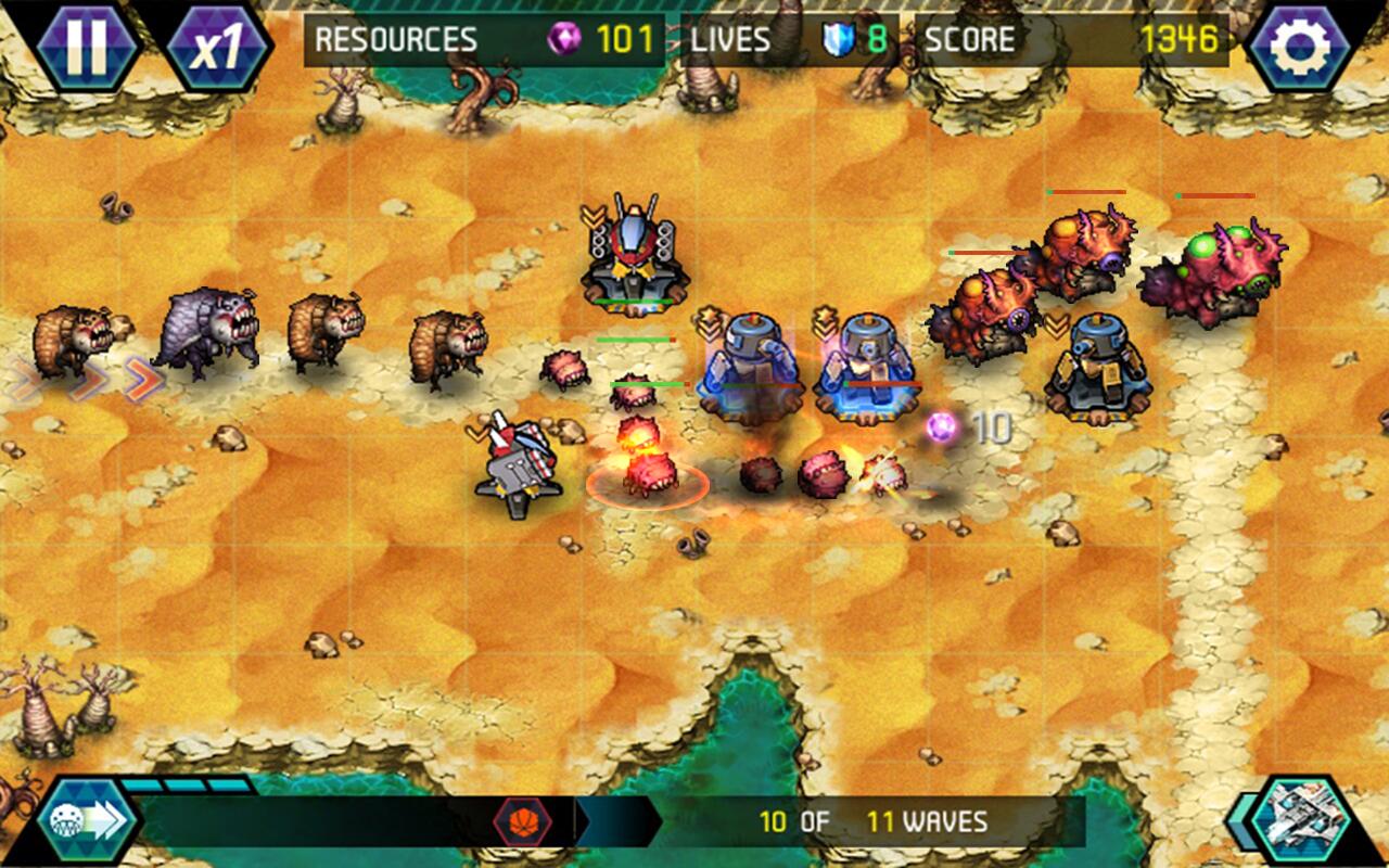 Tower Defense: Infinite War APK