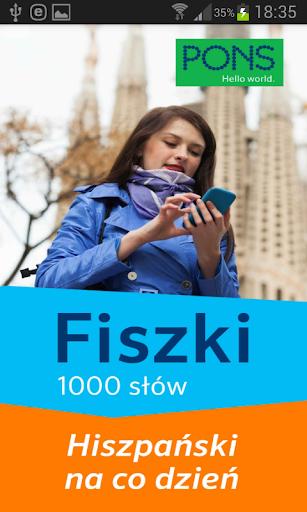 Fiszki- 1000 słów hiszpańskich