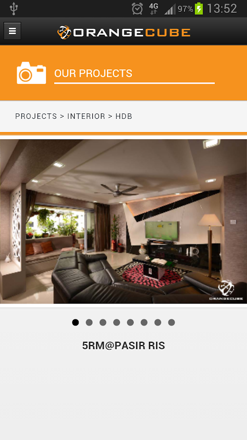 Orange Cube Interiors Android Apps On Google Play