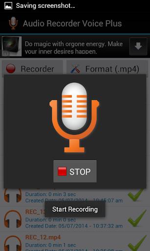 Audio Recorder Voice Plus FREE