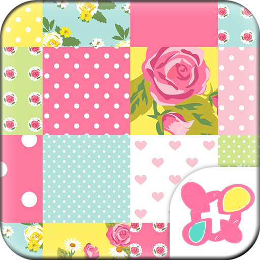 Cute Theme-Rose Quilt- Icon