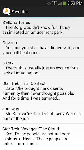 【免費娛樂App】Star Trek Quotes 4 You!-APP點子