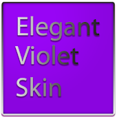 Elegant Violet Keyboard Skin
