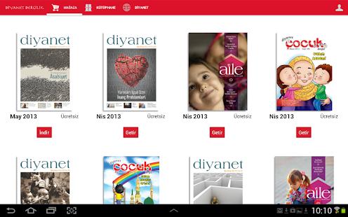 Diyanet Dergileri (2013 Yılı) - screenshot thumbnail