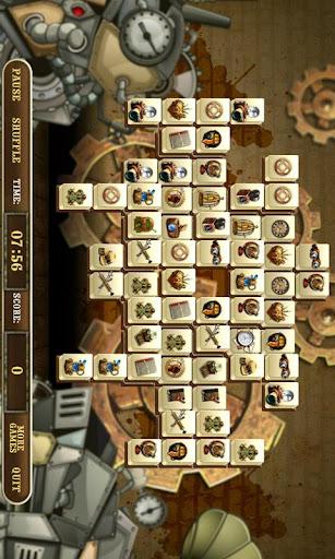 Crazy Inventor Mahjong Full