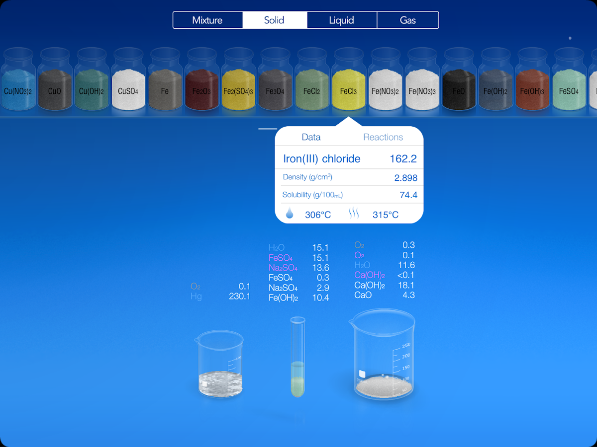 Chemist - Virtual Chem Lab - screenshot