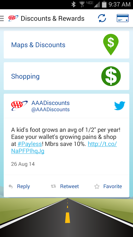 AAA Mobile- screenshot