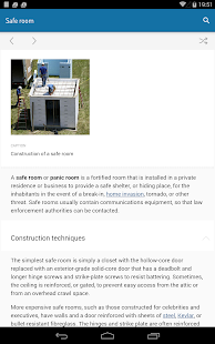 Minipedia Offline Wikipedia- screenshot thumbnail