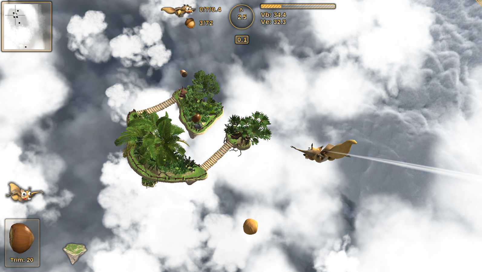 Crazy Flying Squirrel- screenshot