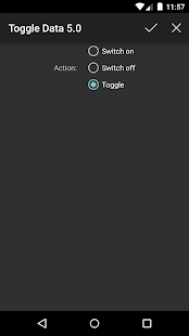 Toggle Data 5.0 (root)- screenshot thumbnail