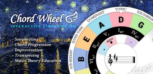 Chord Wheel Circle Of 5ths Aplicaciones En Google Play