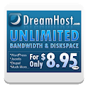 Dream Host web hosting logo