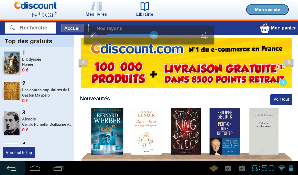 Cdiscount by TEA – Capture d'écran