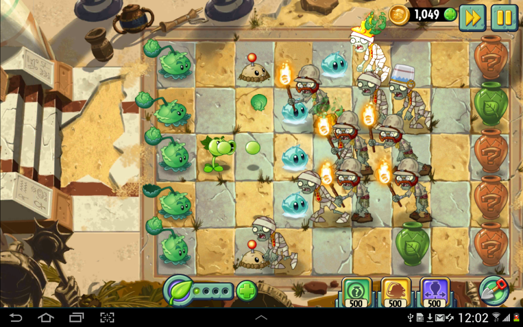 #18. Plants vs. Zombies 2 (Android)