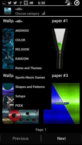 Mega Wallpaper Chooser
