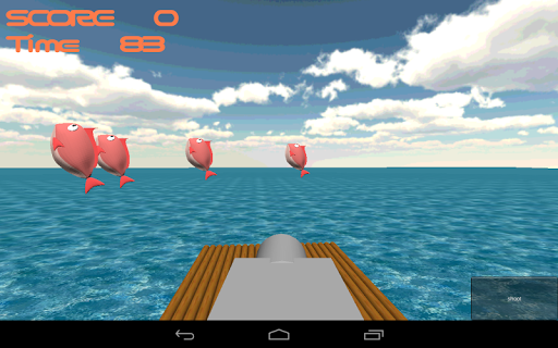 Turning fish Shooting 3D