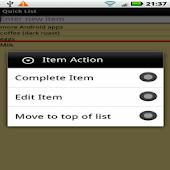 QuickList List Editor