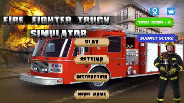 FIRE TRUCK SIMULATOR - screenshot