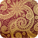 elegant paisley wallpaper 21 icon