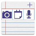 notePad Bloc-note avec photos icon