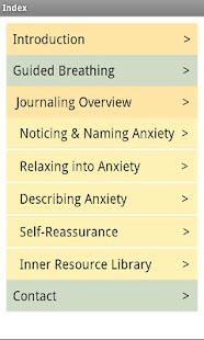 At Ease Anxiety & Worry Relief- screenshot thumbnail