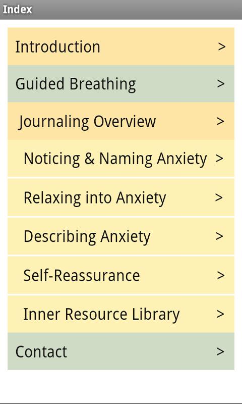 At Ease Anxiety & Worry Relief- screenshot