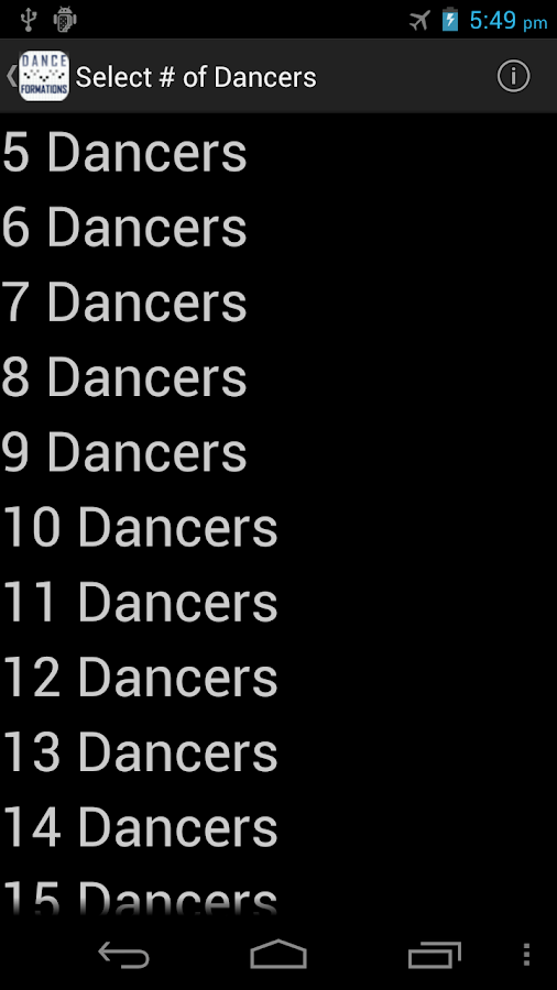Dance & Cheer Formations - screenshot
