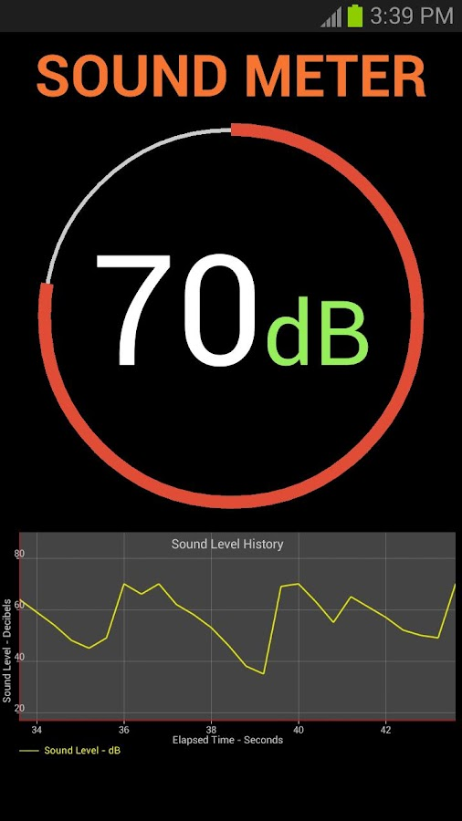 Sound Meter- screenshot