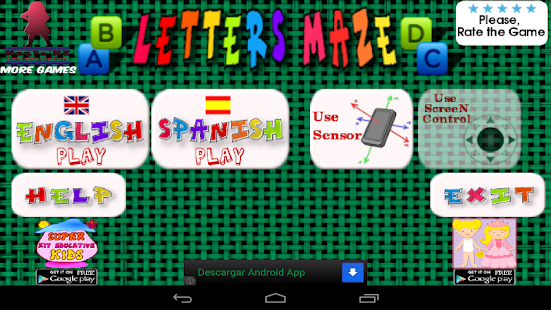 Letters Kids alphabet free - screenshot thumbnail