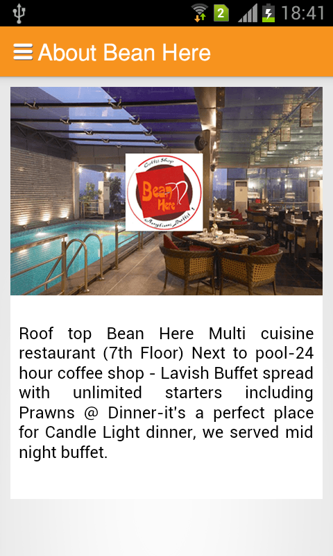 Bean here android apps on google play for 13th floor bangalore candle light dinner