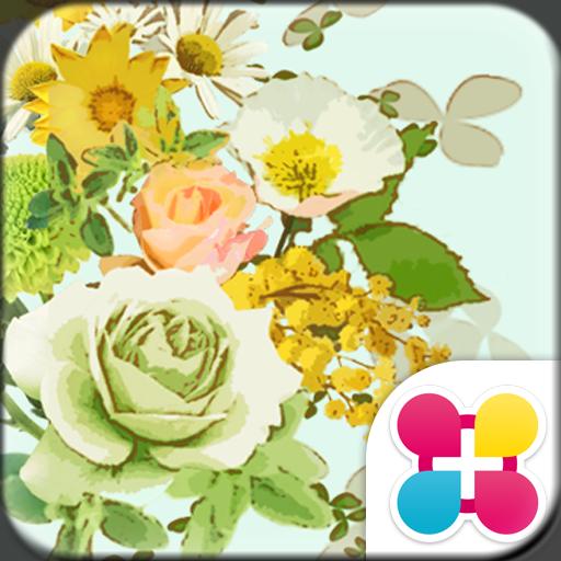Flower Wallpaper Minty Icon
