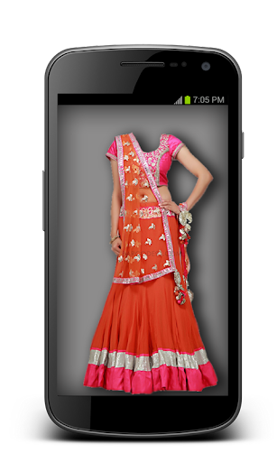 Lehanga Choli Suit Photo Maker