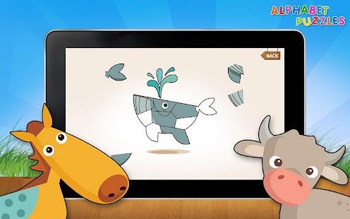 Kids ABC Alphabet Puzzles- screenshot thumbnail
