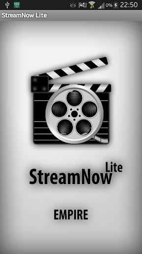 StreamNow Lite - 觀賞電影