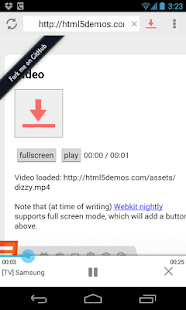 vGet (Stream, Download, DLNA) - screenshot thumbnail