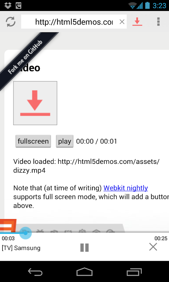 vGet (Stream, Download, DLNA) - screenshot