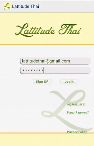 Lattitude Thai