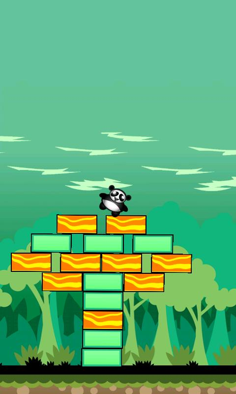 Shaking Tower Panda FREE- screenshot