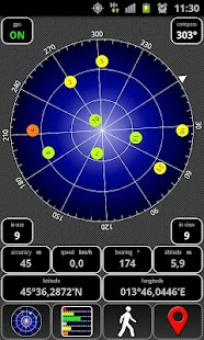 AndroiTS GPS Test Free - screenshot thumbnail